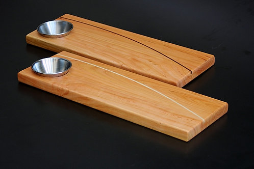 Bread Board with Sauce Cup