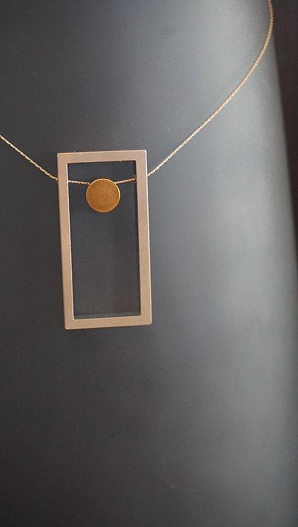 Glamouras Necklace (Brass)
