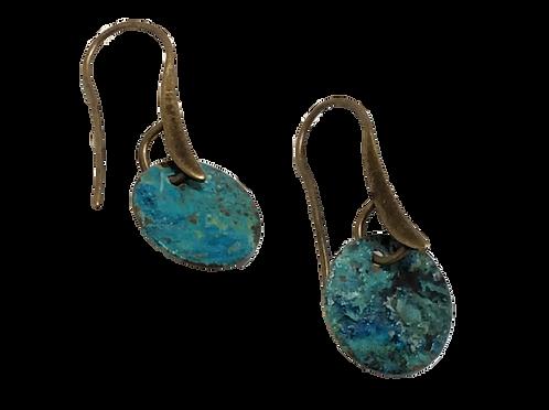 Sea Foam Dots Earrings