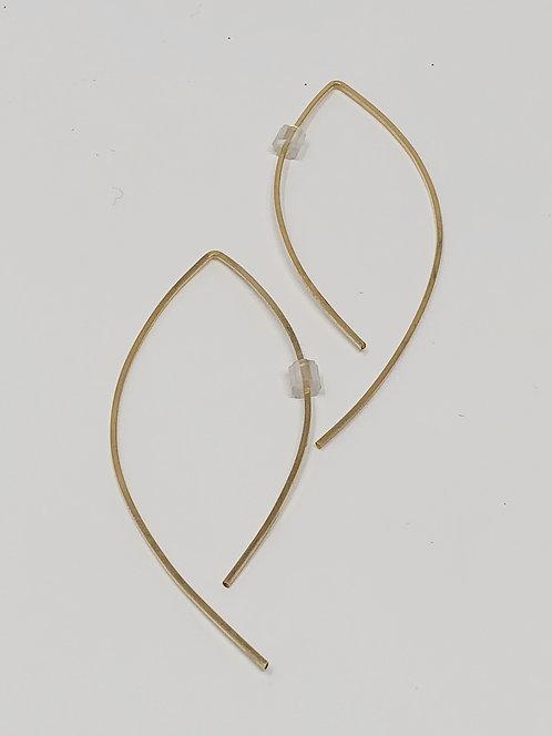 Swoop Gold Fill Earrings