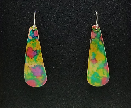 Teardrop Ripple Earrings
