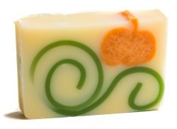 Pumpkin Gingerbread Soap by the Slice