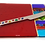 Thumbnail: Carnival Red Cheese Plate w Spreader