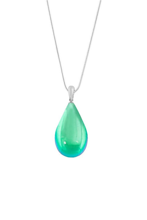 Large Polished Green Drop