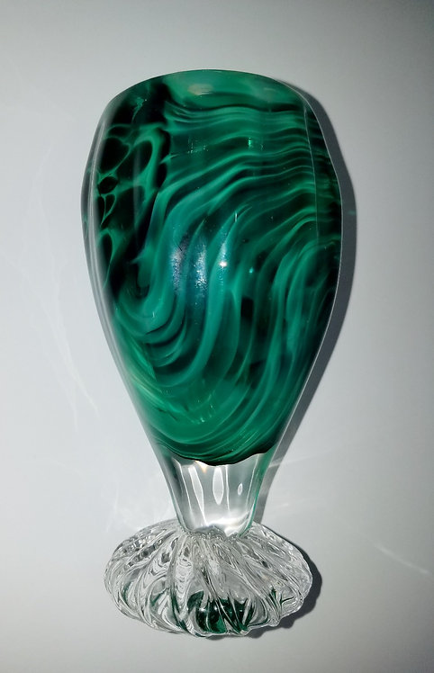 Jade Optic Wine Goblet