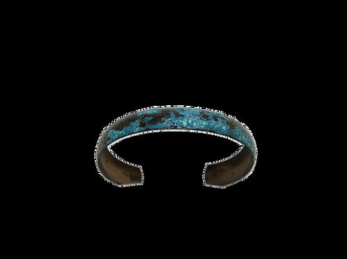 Wrist Cuff Petite - Bryzentine Blue