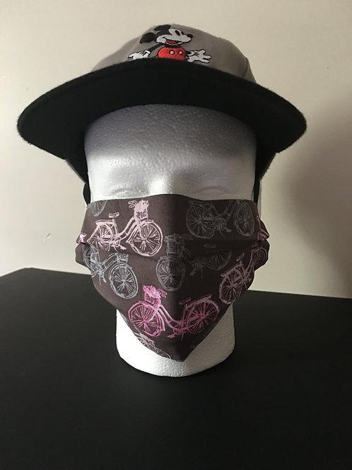 Adult Face Mask - Bike