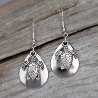 Turtle Charm Earrings
