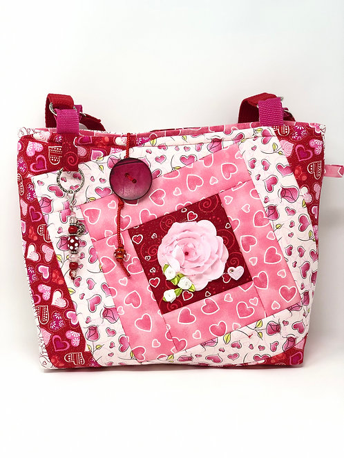 Love Quilted Tote