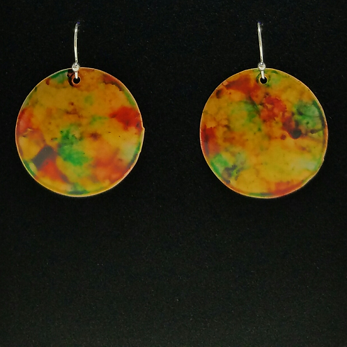 Round Daydream Earrings