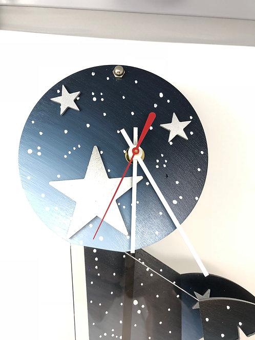 Large Jester Clock