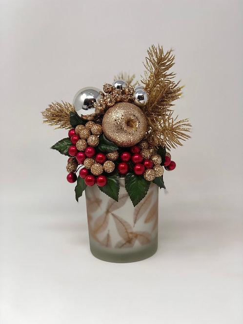 Mini Floral/Candleholder