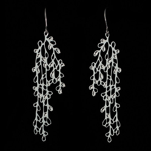 Ivy Earrings 2 (Silver Plated)
