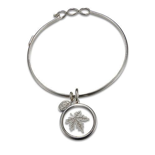 Float Maple Leaf Bracelet