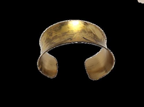 Wrist Cuff Channel - Nutmeg
