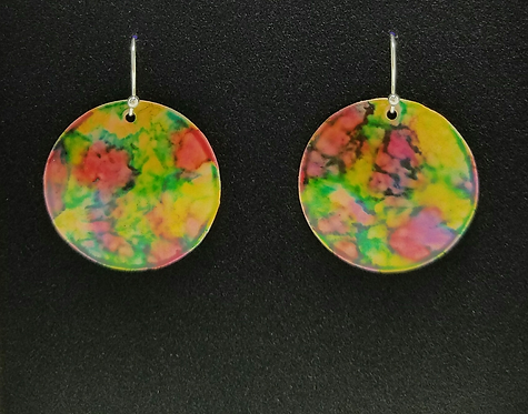 Round Ripple Earrings