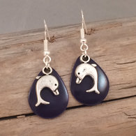 Dolphin Charm Earrings