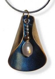 Blossom Blue Cobalt Pendant