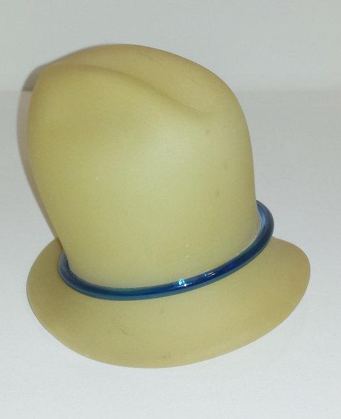 Beige Mini Ornament Cowboy Hat