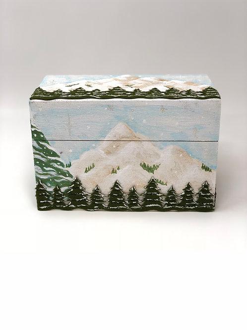 """""""Snow Mountain"""" Recipe/Trinket/Gift Box"""