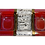 Thumbnail: Red Retro Lg 3-Section Tray