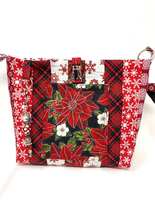 Quilted Christmas Fun Bag