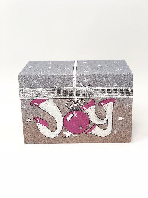 """""""JOY"""" Recipe/Trinket/Gift Box"""