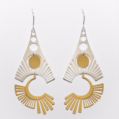 Radiate Earrings 3 (Mixed)