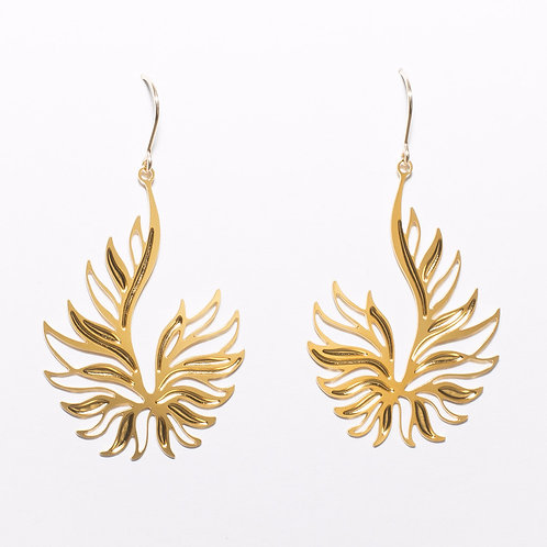 Ascend Earrings (Gold Plated)