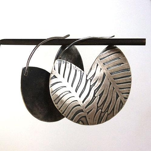 Palm Hoop Earrings
