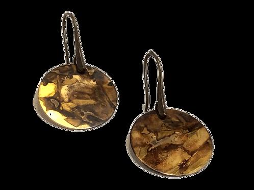 Medium Circles Earrings - Mahogany Mojo