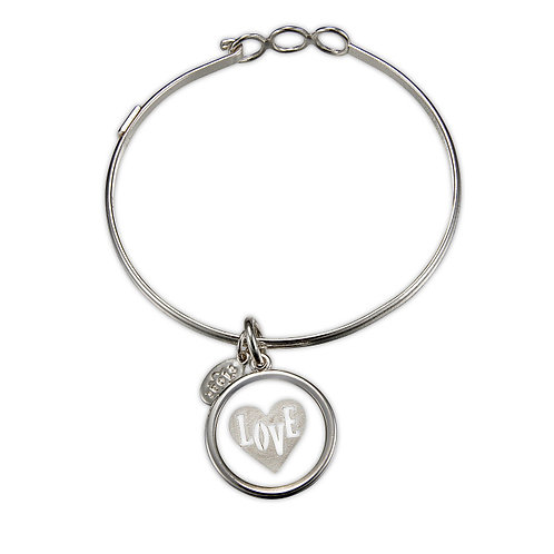 Float Love Heart Bracelet