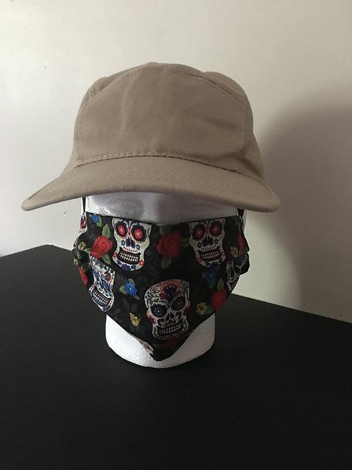 Adult Face Mask - Skeleton
