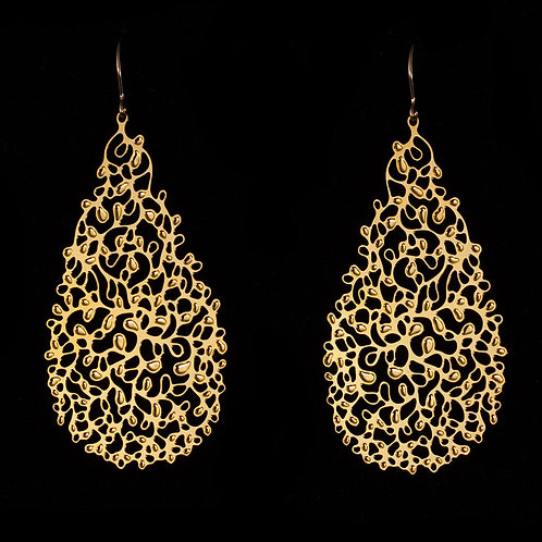 Ivy Earrings 3 (Gold Plated)