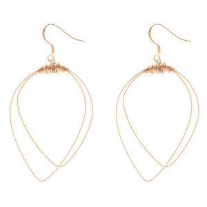 Double Pick Loop Earrings