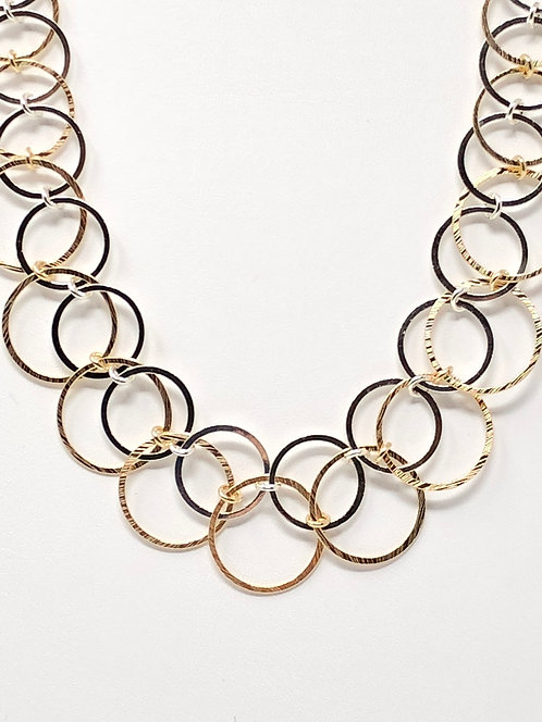 Mixed Circle Necklace