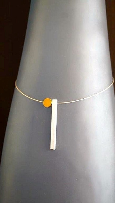 Modest Miss Necklace with Brass