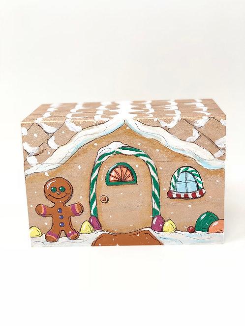 """Gingerbread House"" Recipe/Trinket/Gift Box"