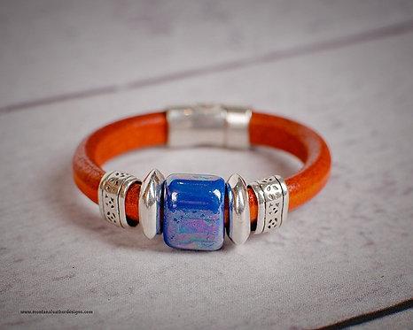 Sun River Leather Bracelet