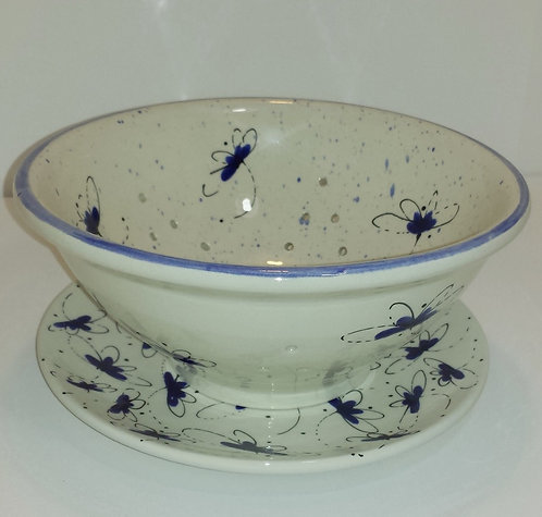 Dragonfly Berry Bowl