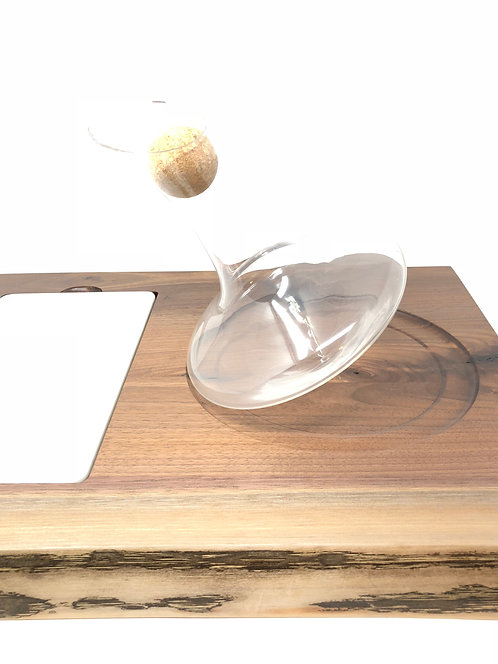 JR Decanter with Marble