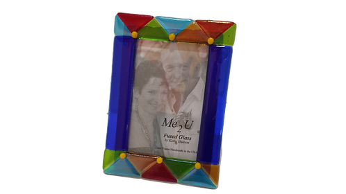 "Royal Collection Blue Picture Frame - 5""x7"""
