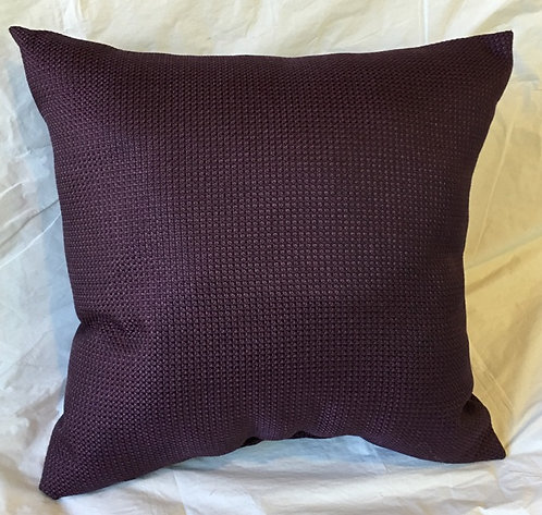 Purple Textured Pillow