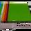 Thumbnail: Rainbow Green Cheese Plate w Spreader