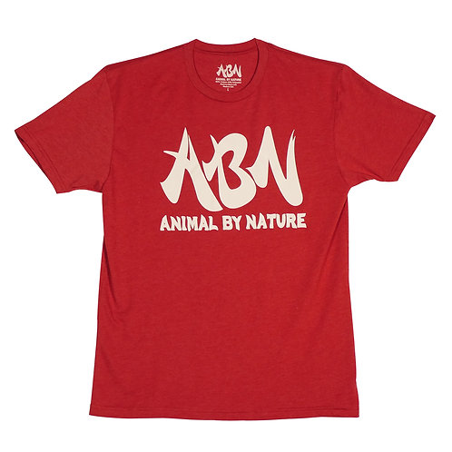 ABN CLASSIC TEE - CARDINAL RED