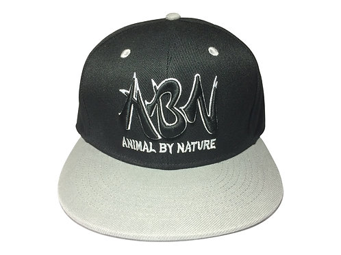 ABN Team Snap Back Hat - Black and Gray