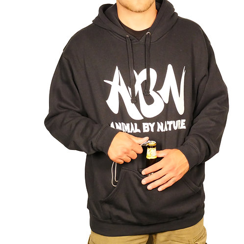 ABN CLASSIC PULLOVER HOODIE WITH KOOZIE - NAVY
