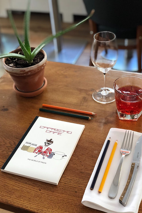 THE WORLD OF PASTA COLORING BOOK