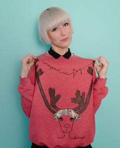 WRAPPED IN JOY sweater