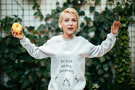 PIZZA PASTA DOUGHNUTS sweater